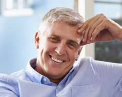 Smiling middle-aged Guy | The Foehr Group in Bloomington, IL | Dr. Wolf